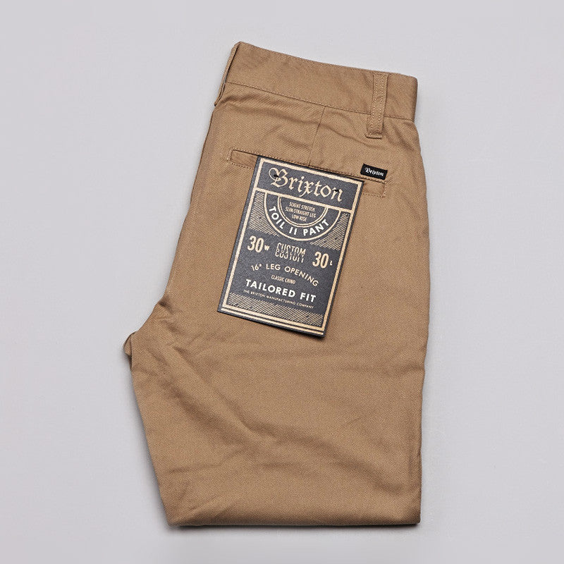 Brixton Toil 2 Pants Khaki