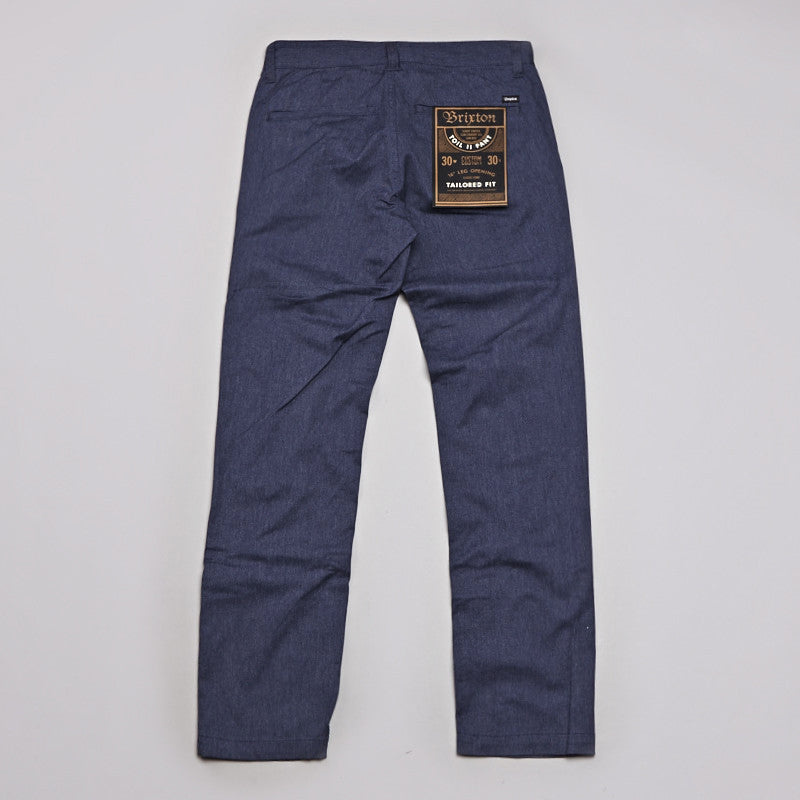 Brixton Toil 2 Trousers Washed Blue