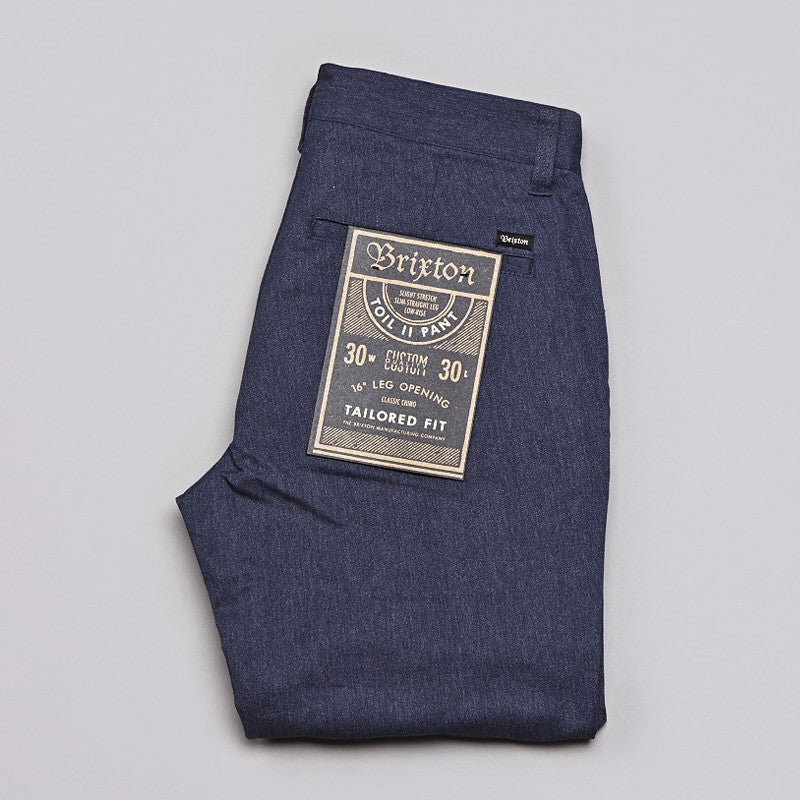 Brixton Toil 2 Pants Washed Blue