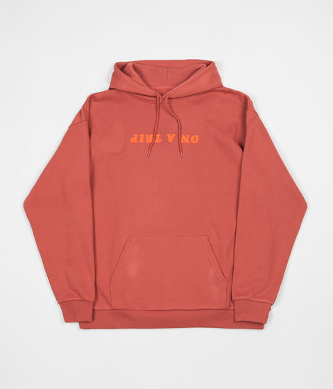Brixton Trippin Hoodie - Coral