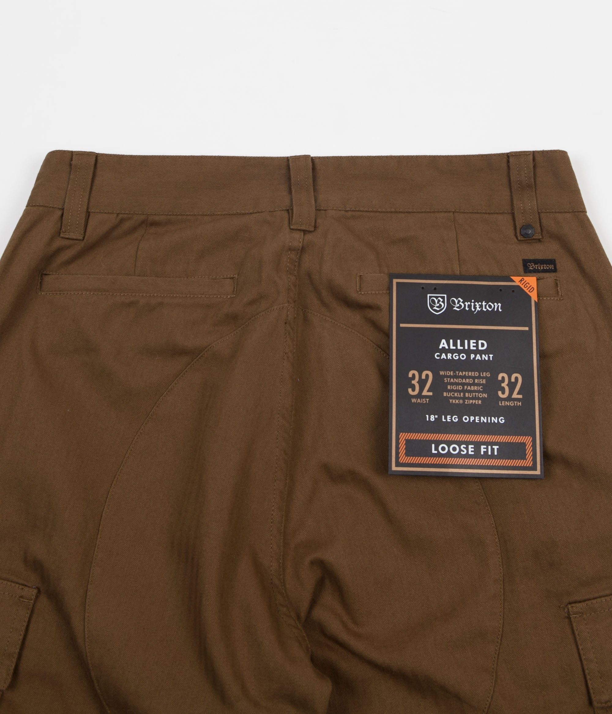 Brixton Union Allied Cargo Trousers - Olive