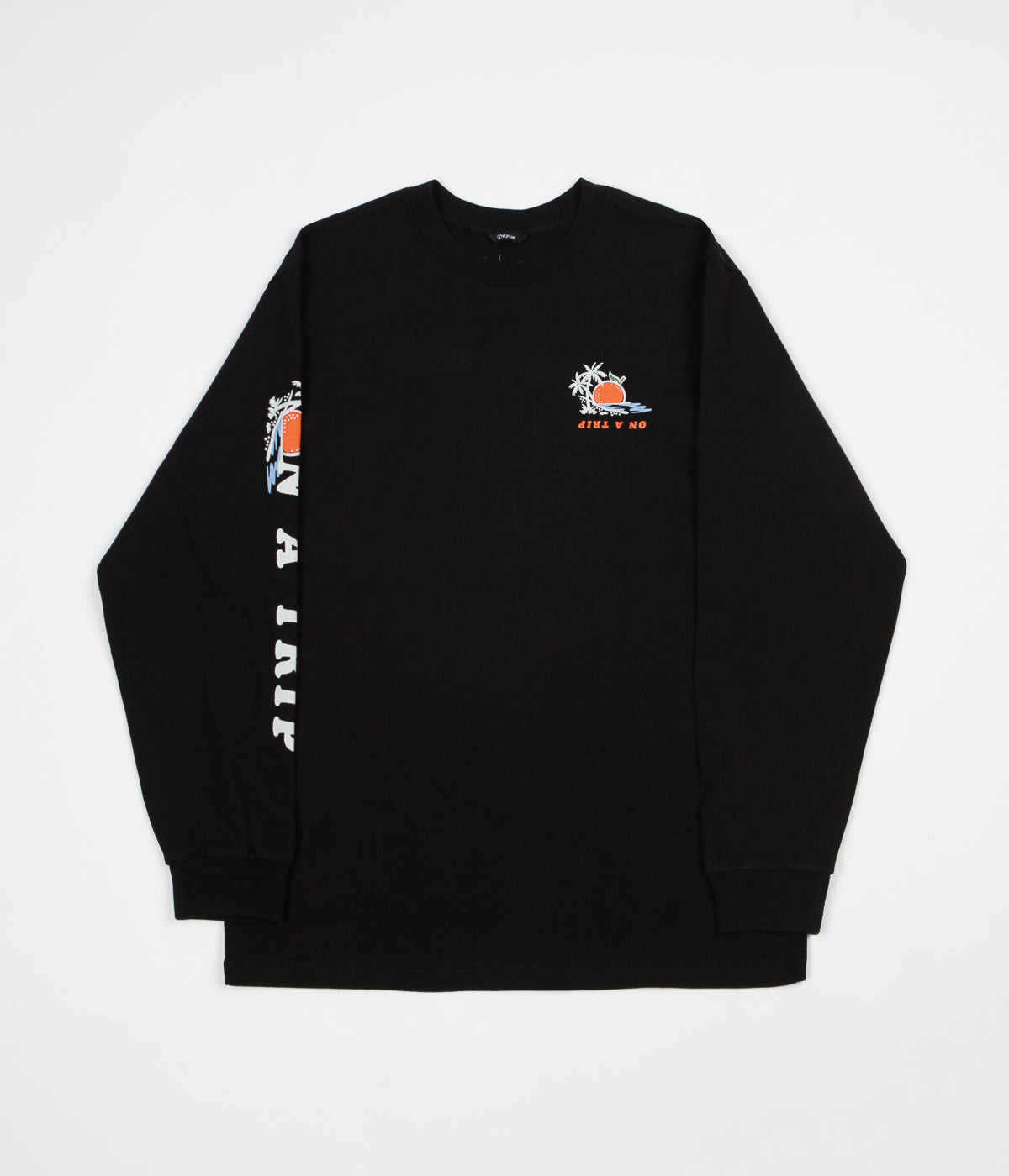 Brixton Valencia Long Sleeve T-Shirt - Black