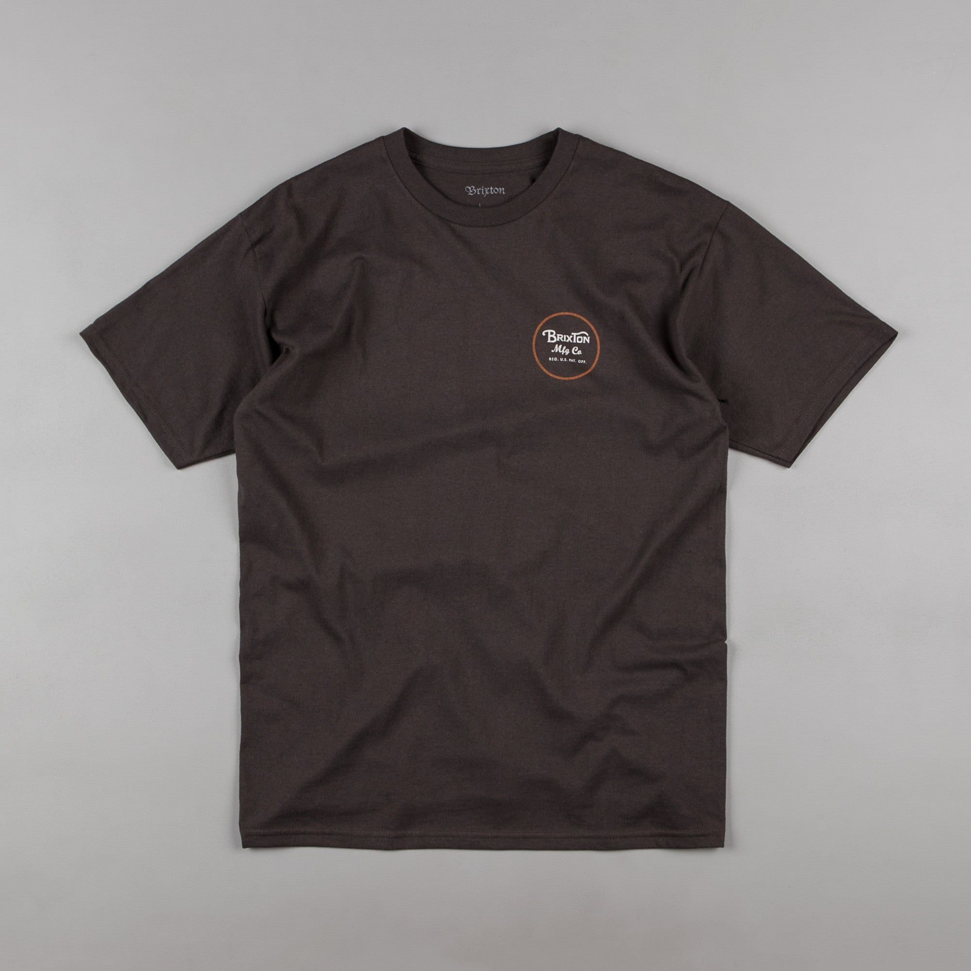 Brixton Wheeler II T-Shirt - Washed Black