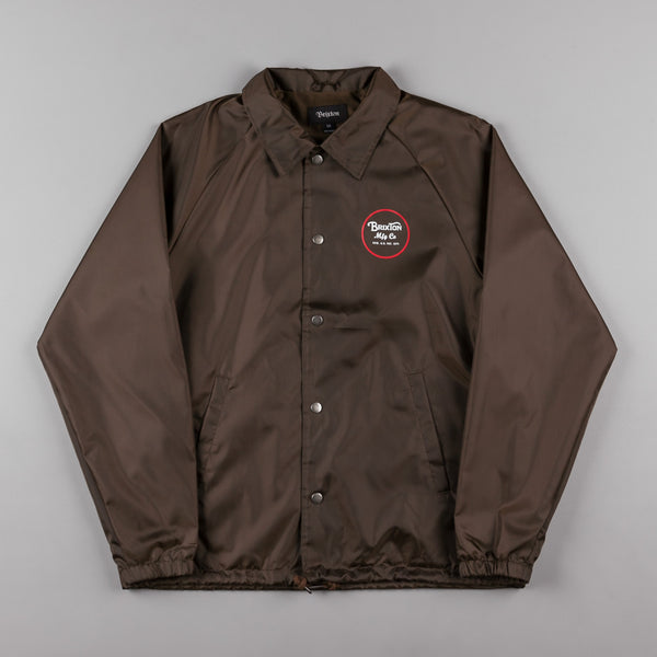Brixton Wheeler Jacket - Brown