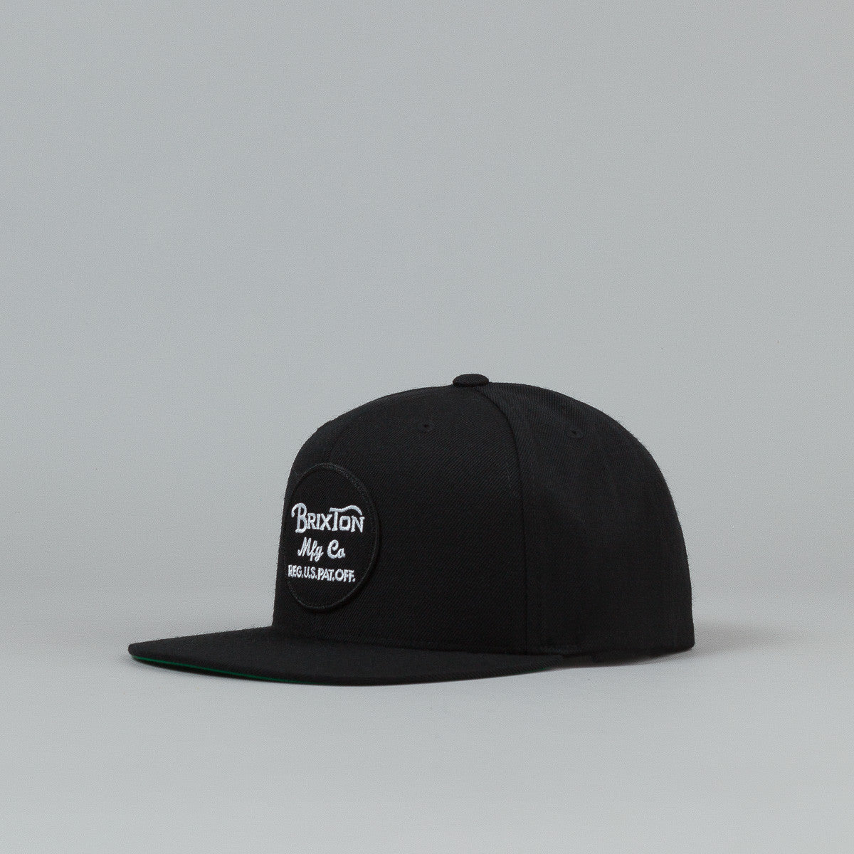 Brixton Wheeler Snap Back Cap