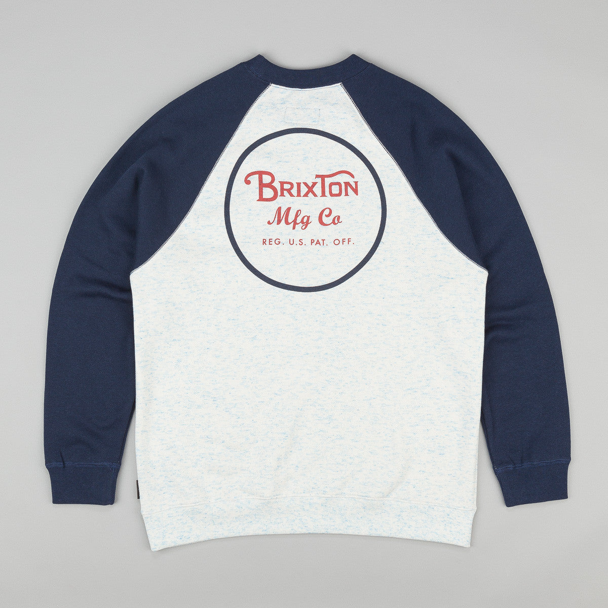 Brixton Wheeler Sweatshirt - Heather Blue / Navy