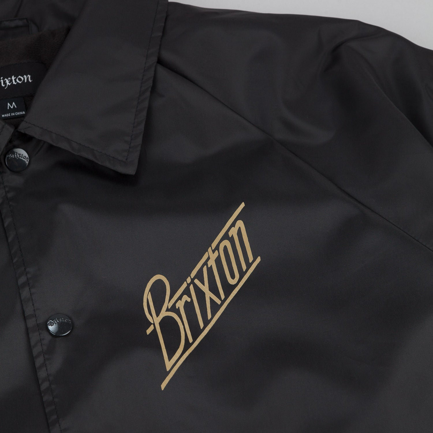 Brixton Wilson Jacket - Black / Gold