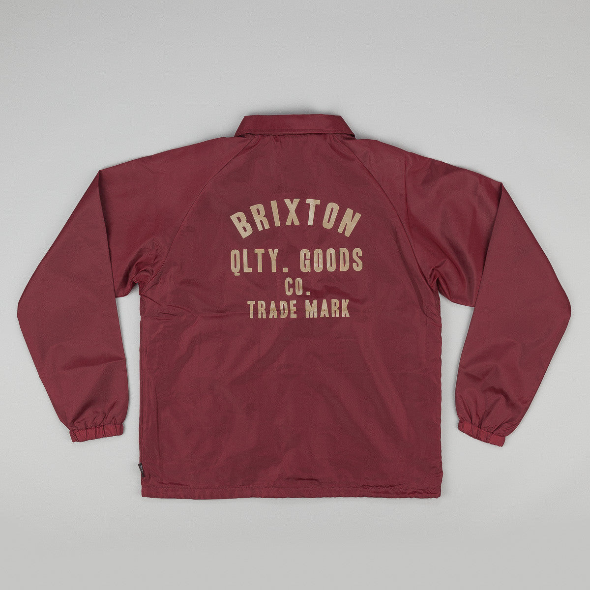 Brixton Woodburn Jacket - Burgundy
