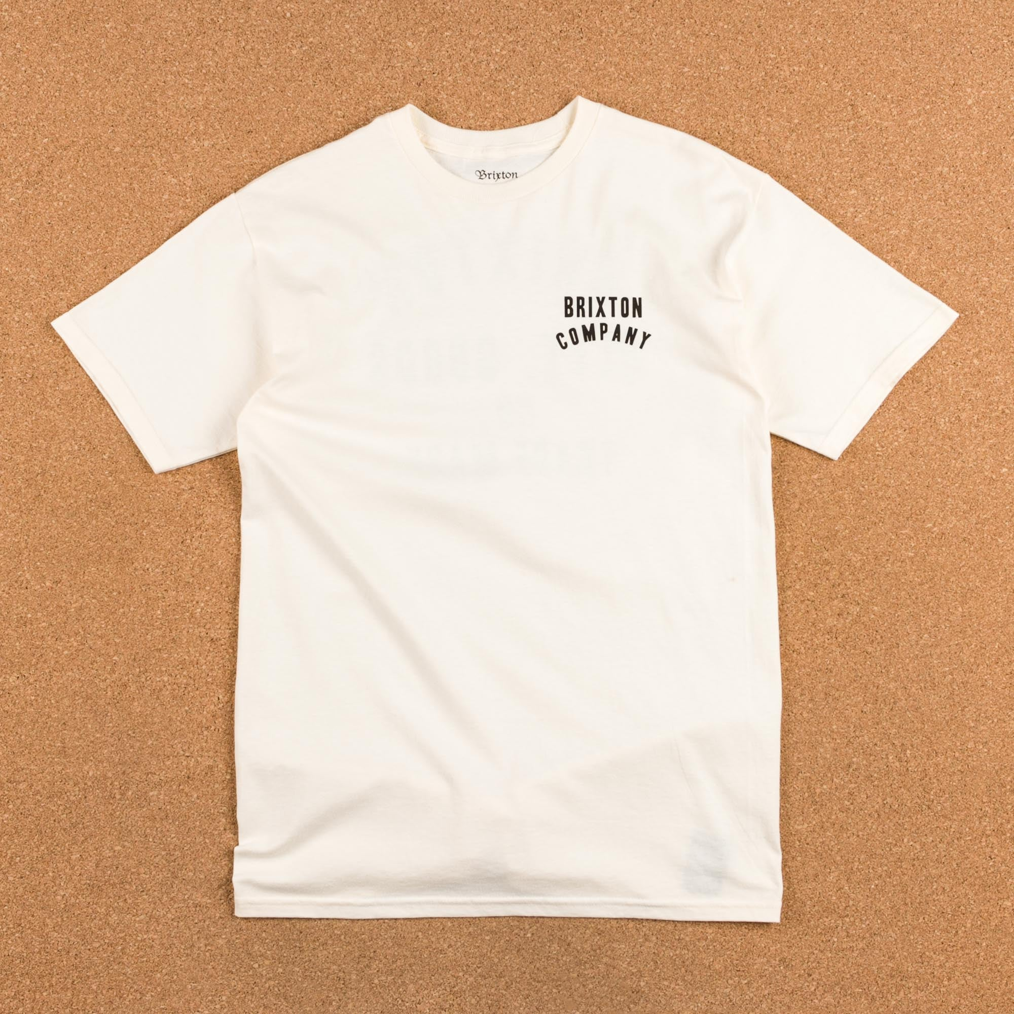 Brixton Woodburn T-Shirt - Off White
