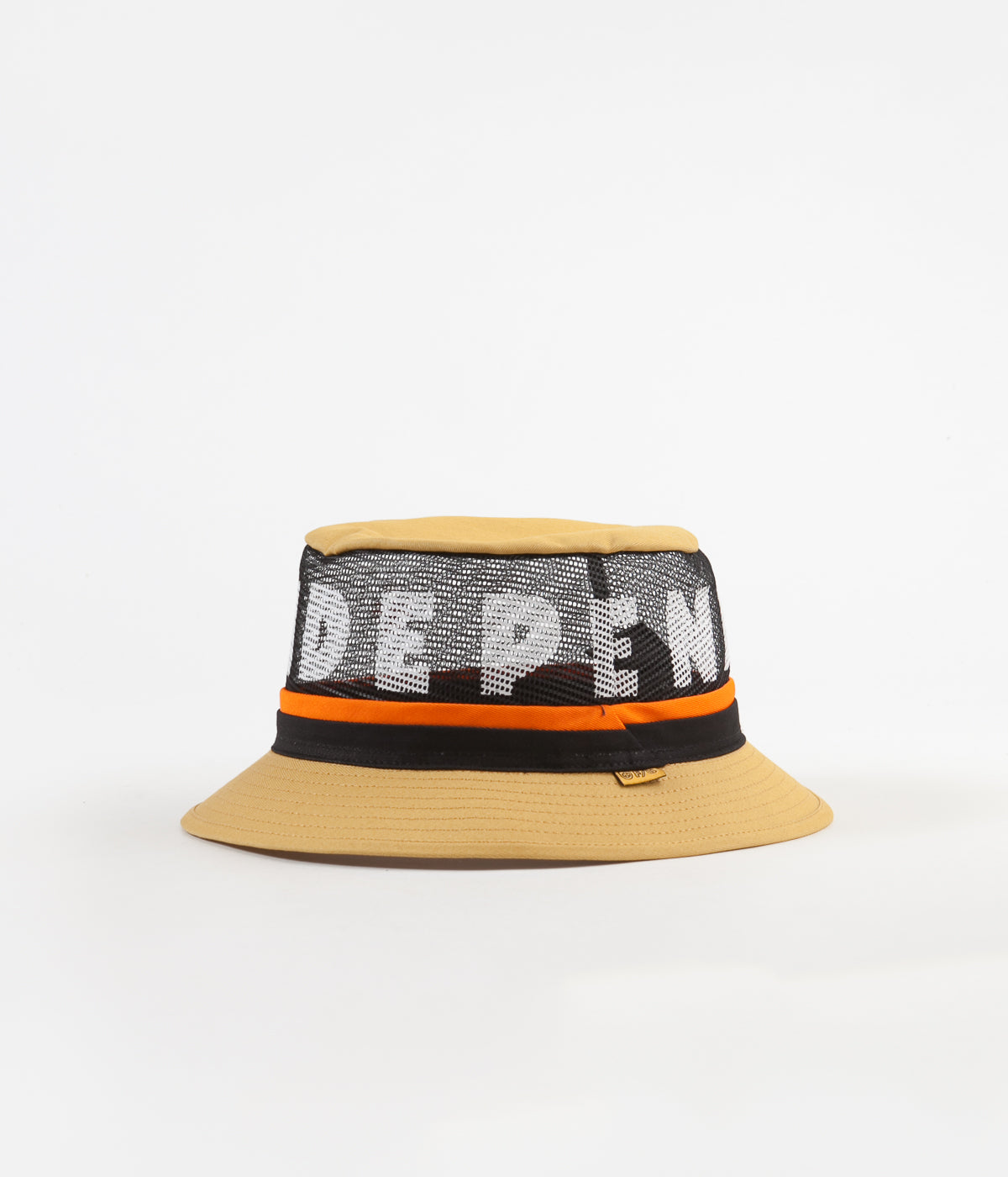 Brixton x Independent F U Hardy Bucket Hat - Yellow  6c1ed79a730