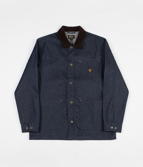 Brixton x Independent Yard Denim Jacket - Raw Indigo