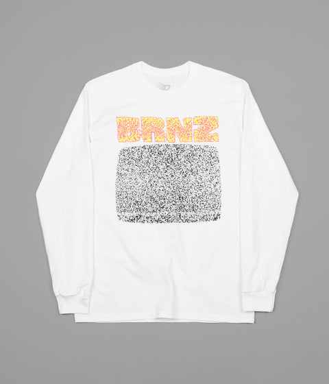 Bronze 56k Brnz Long Sleeve T-Shirt - White