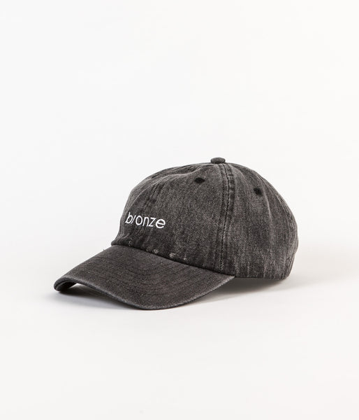 Bronze 56K Bronze Denim Cap - Black