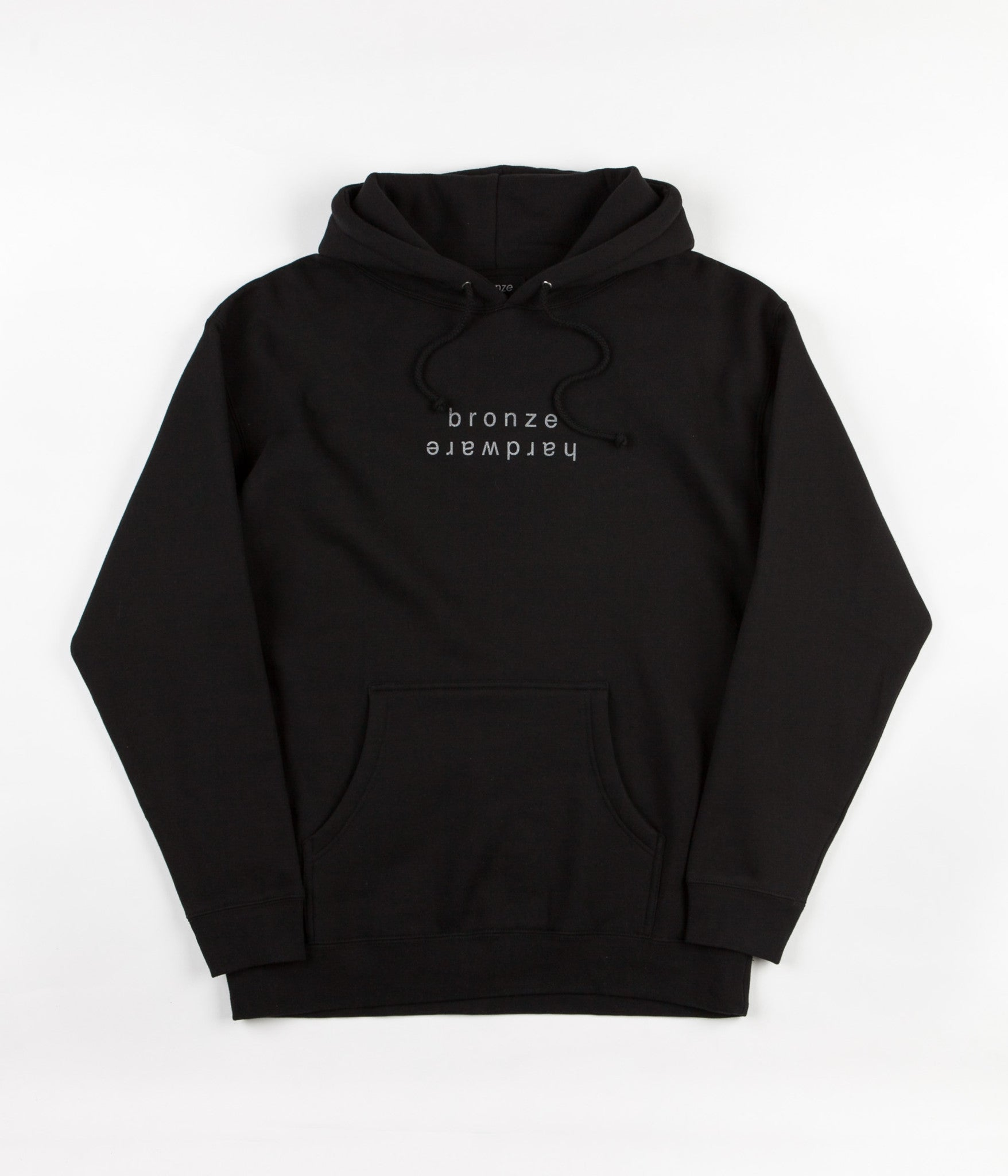 Bronze 56K Bronze Hardware Hooded Sweatshirt - Black