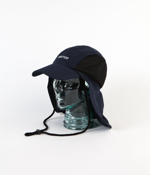 Bronze 56K Bronze Safari Cap - Navy