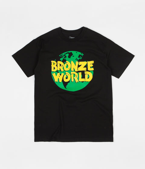 Bronze 56k Bronze World T-Shirt - Black