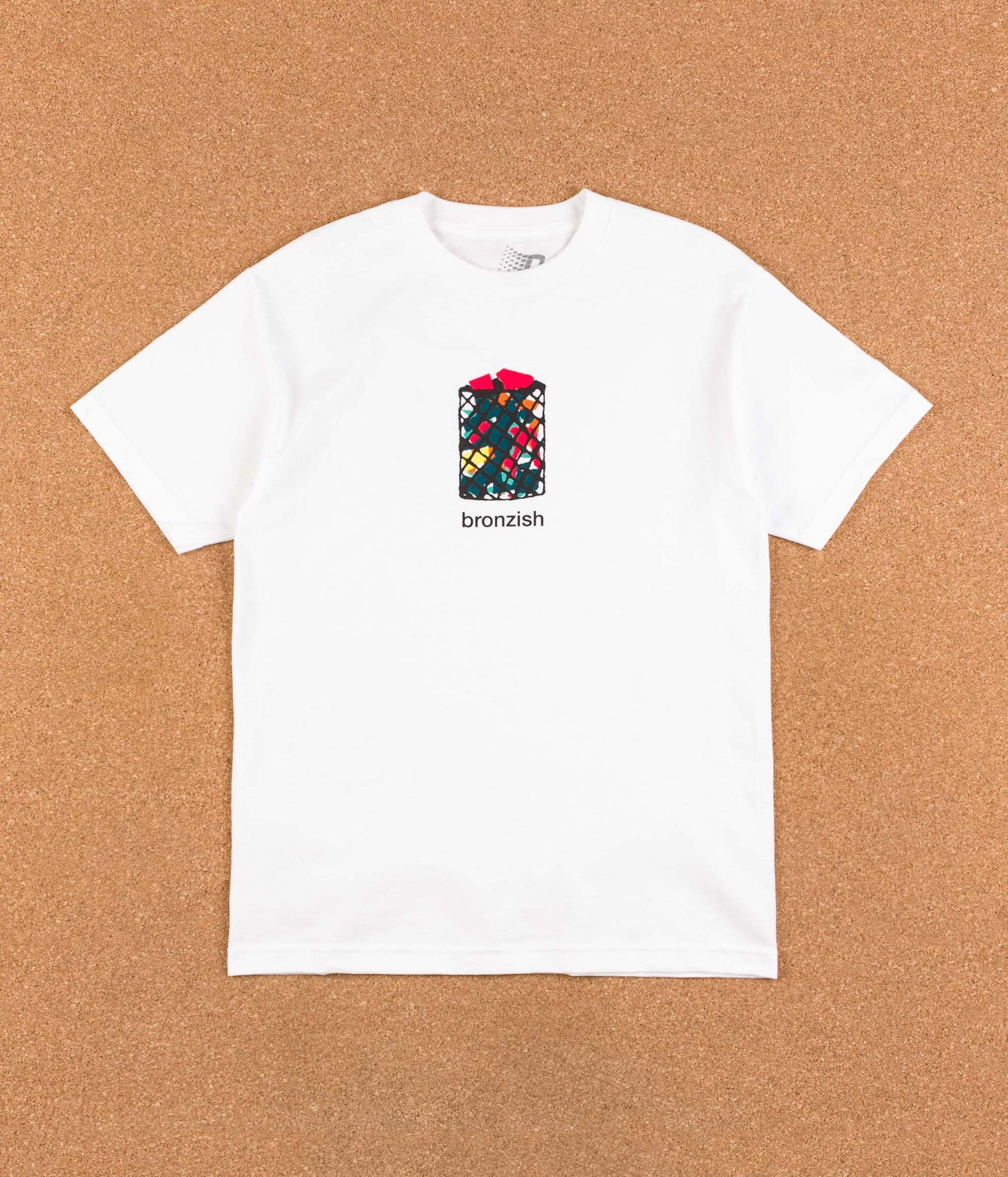 Bronze 56k Bronzish T-Shirt - White