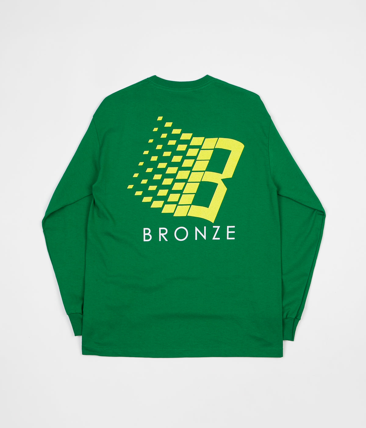 421d026a7501 Bronze 56K Classic Logo Long Sleeve T-Shirt - Kelly Green