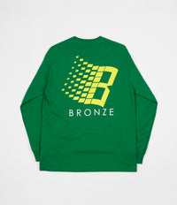 Bronze 56K Classic Logo Long Sleeve T-Shirt - Kelly Green