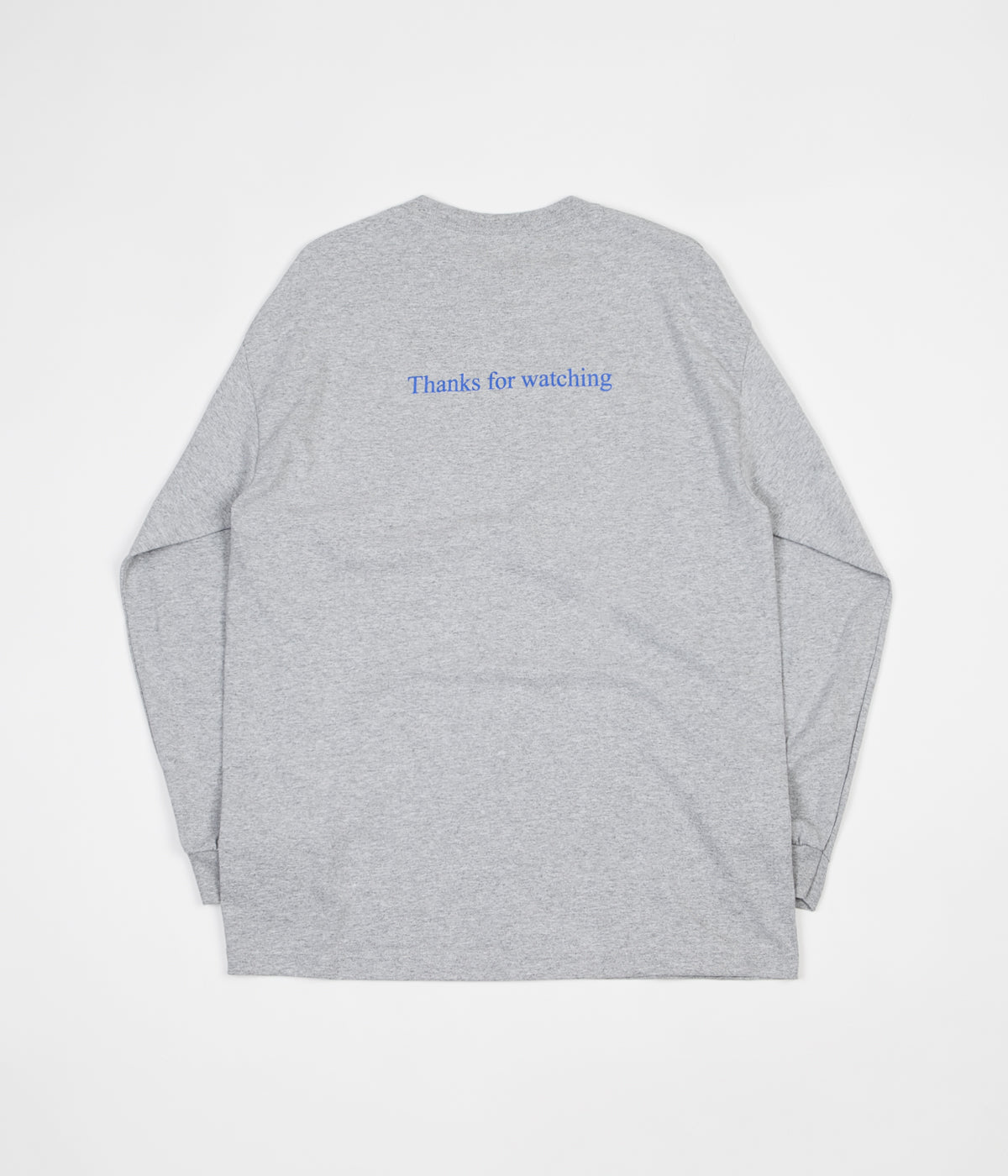 Bronze 56K Faces Long Sleeve T-Shirt - Heather Grey