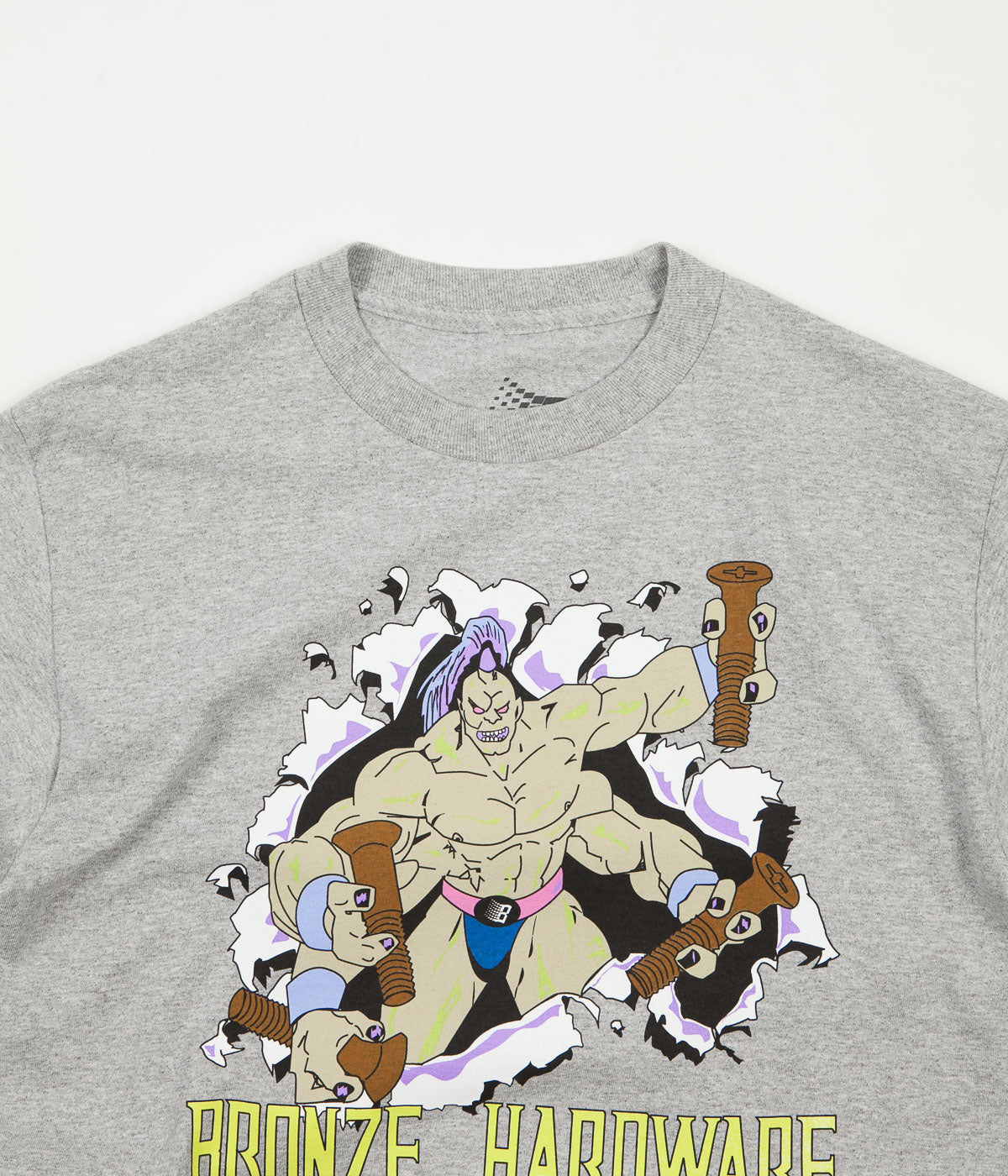 Bronze 56K Guru T-Shirt - Athletic Heather Grey