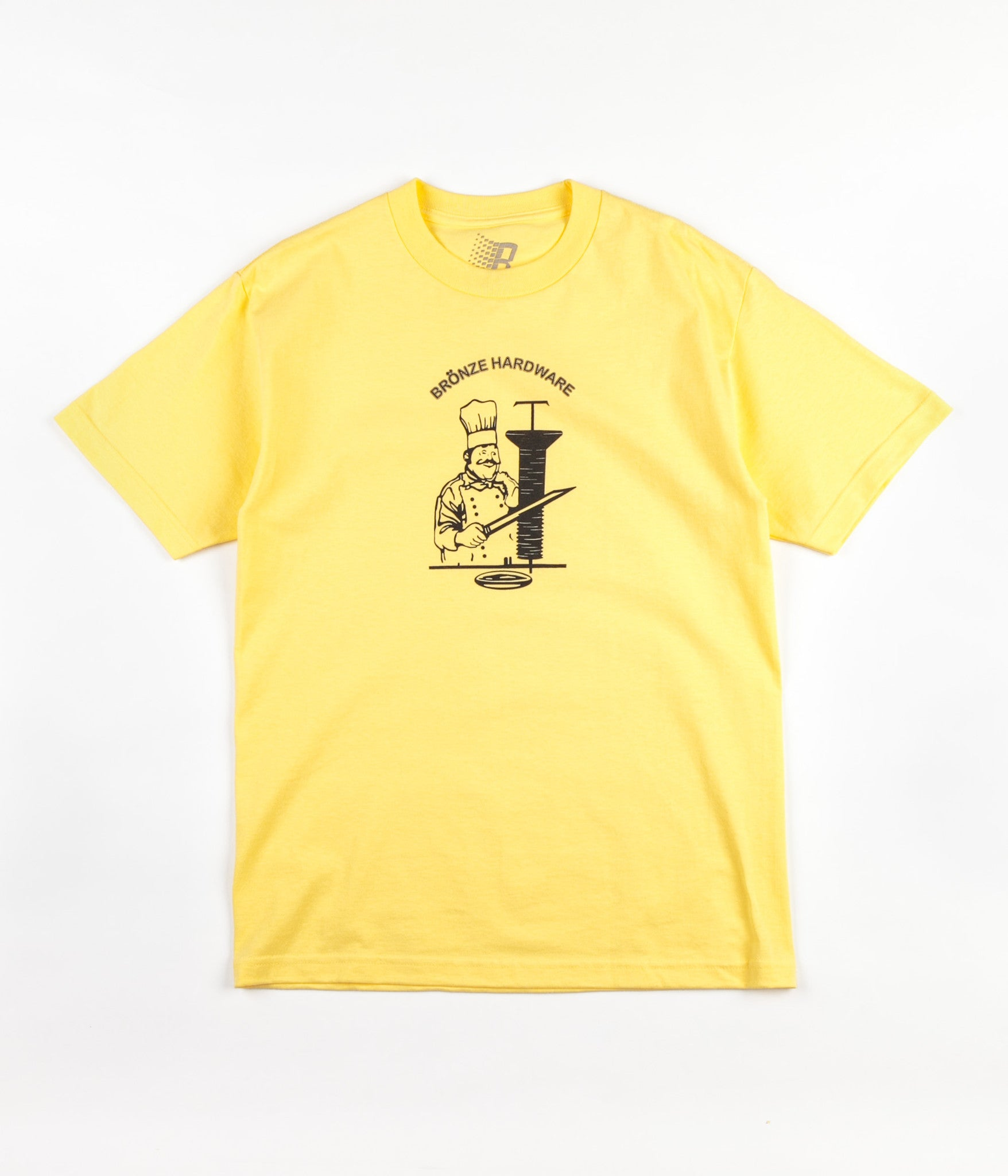 Bronze 56k Kebab T-Shirt - Yellow / Black