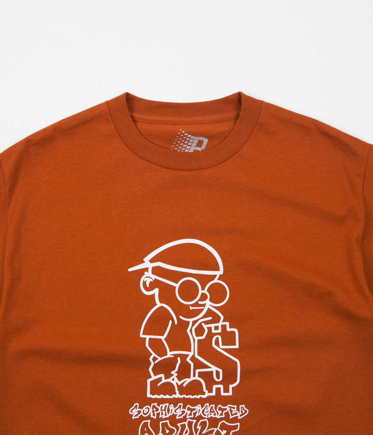 Bronze 56K Sophisticated Guy T-Shirt - Texas Orange / White