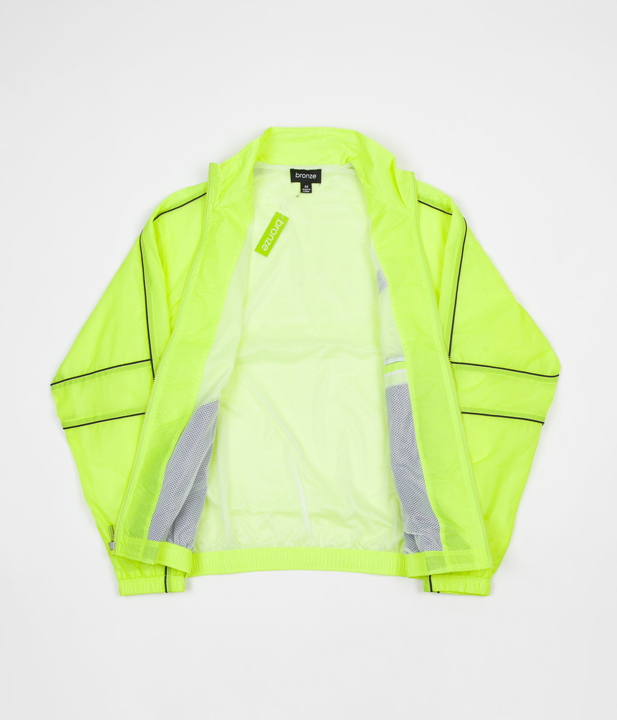 Bronze 56K Sport Jacket - Neon Lime