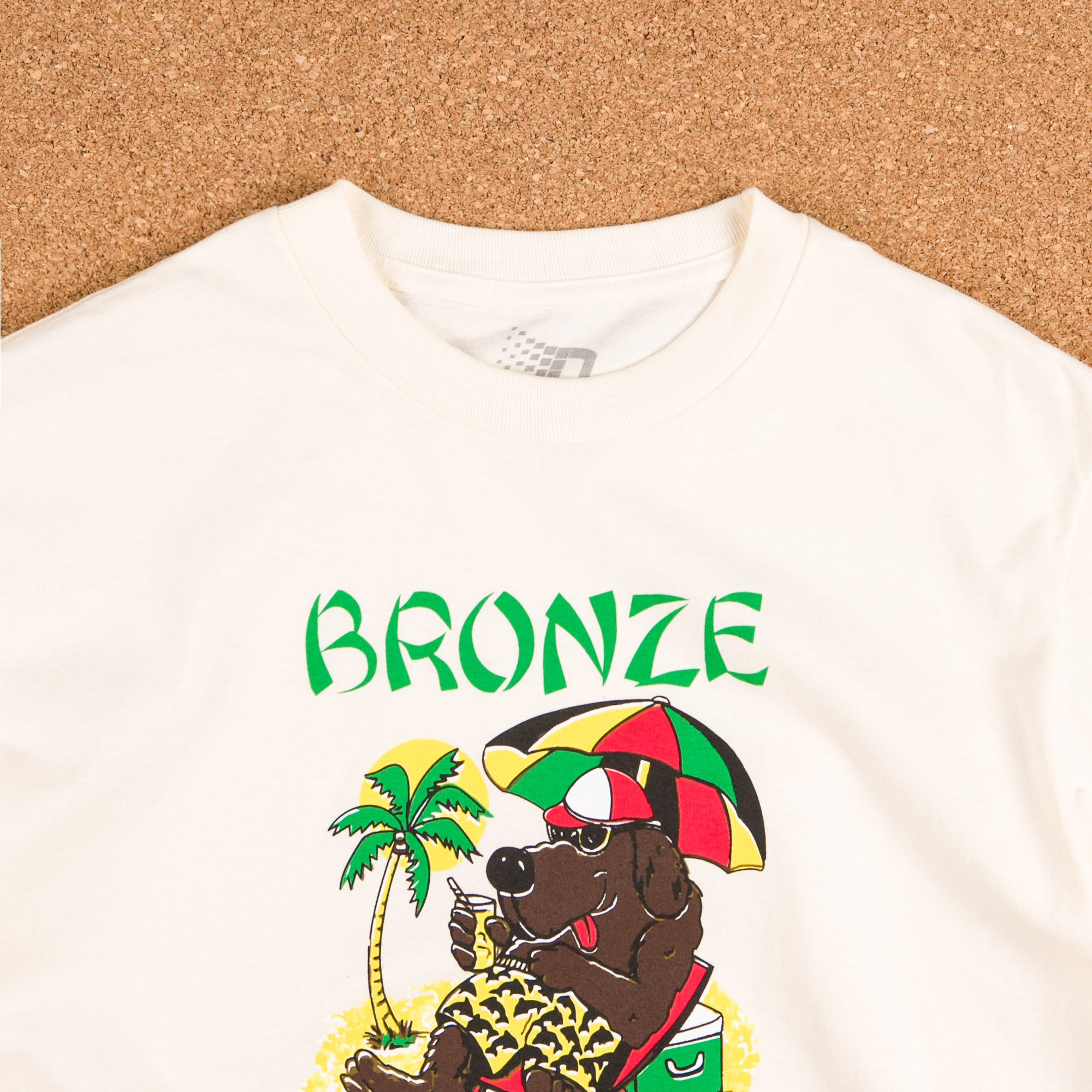 Bronze 56k Vacation T-Shirt - Creme