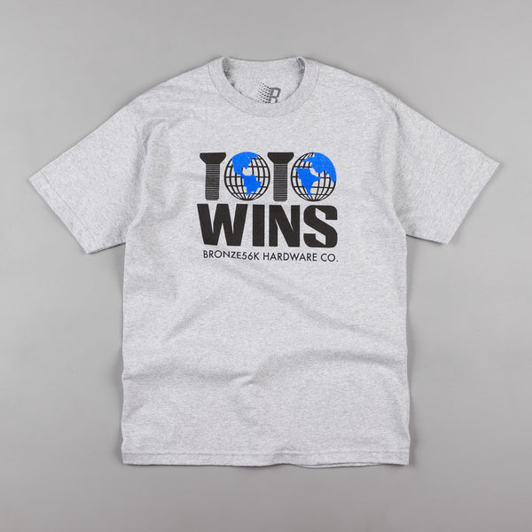 Bronze 56k Wins T-Shirt - Grey