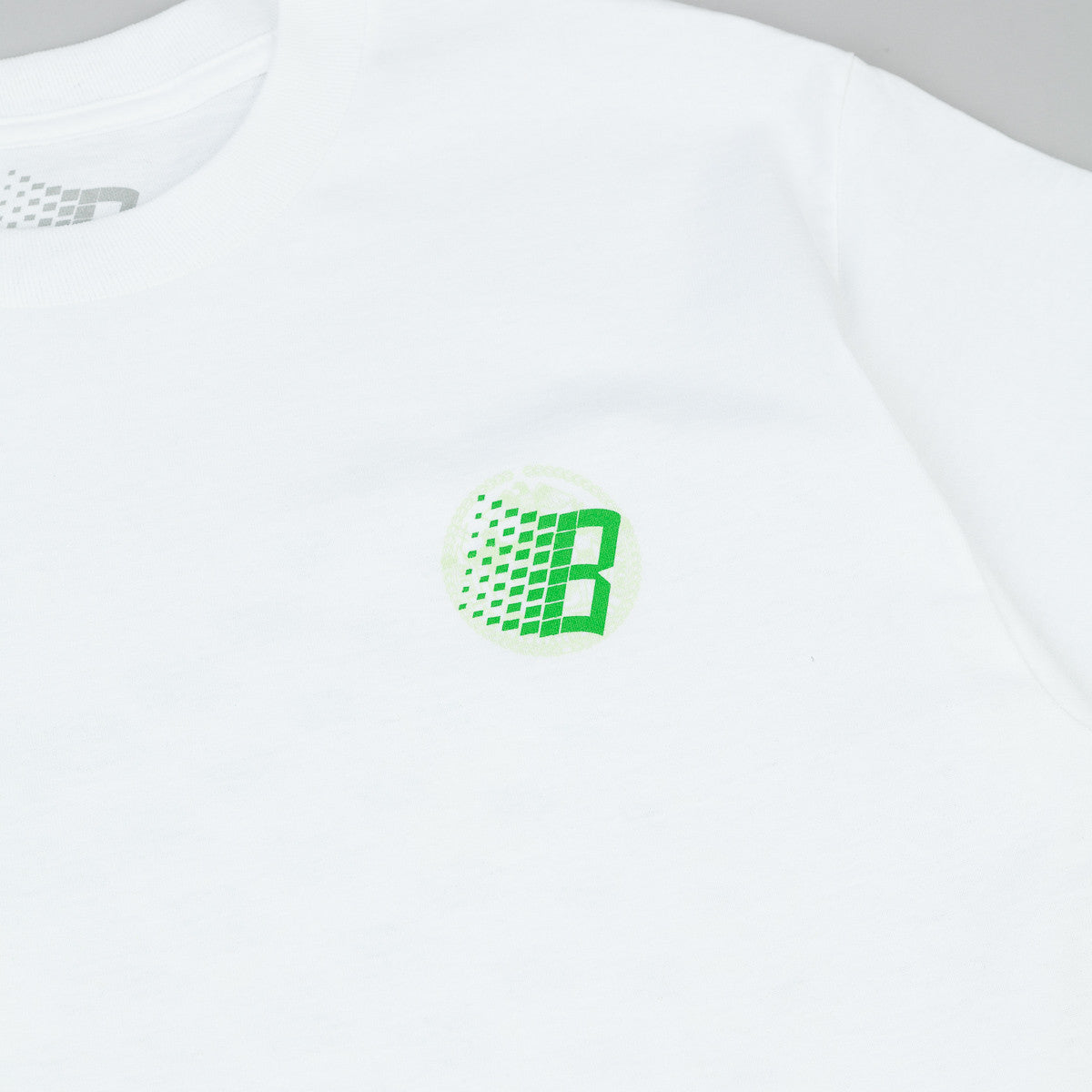 Bronze 56k Inspection T-Shirt - White / Green