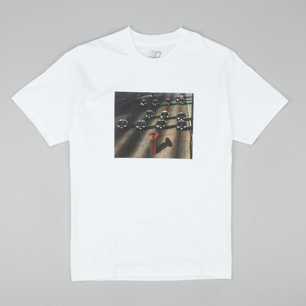 Bronze 56k Not Guilty T-Shirt - White