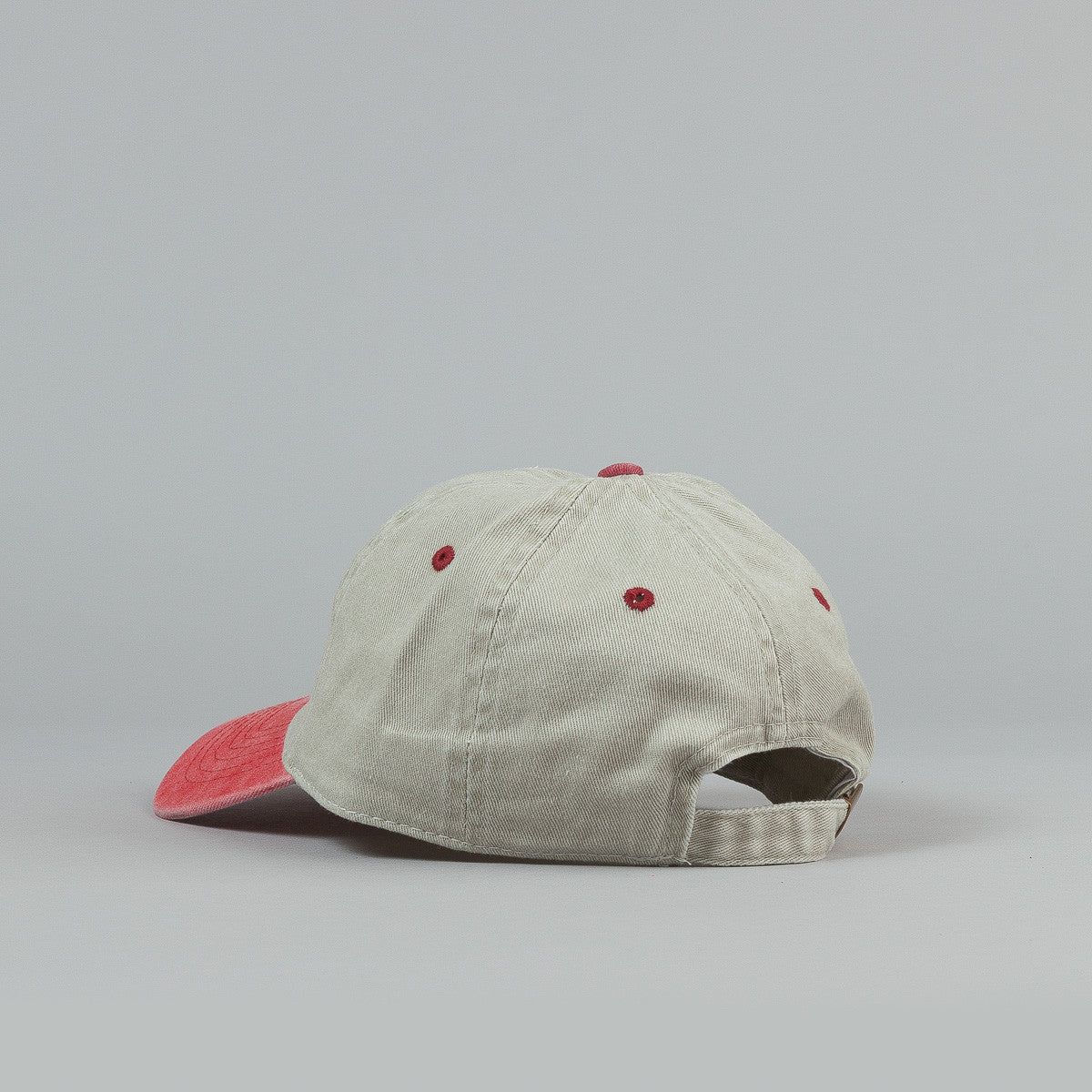 Bronze 56k Two Tone Cap - Sand / Red