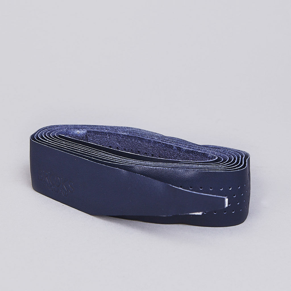 Brooks Leather Bar Tape Royal Blue
