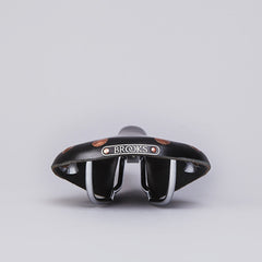 Brooks Team Pro Saddle Black / Chrome
