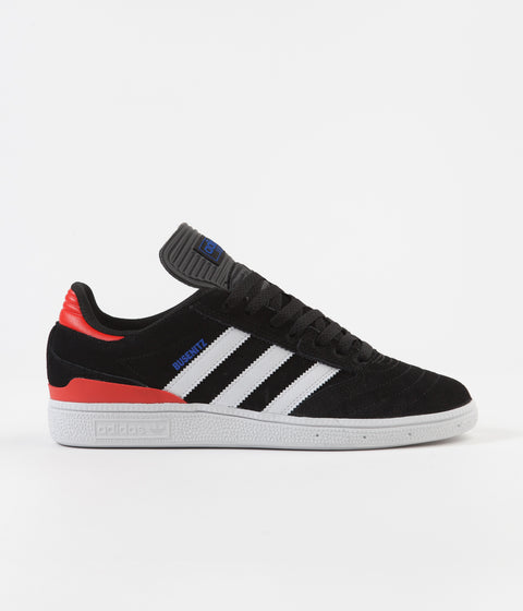 Adidas Busenitz Shoes - Black / White / Blue