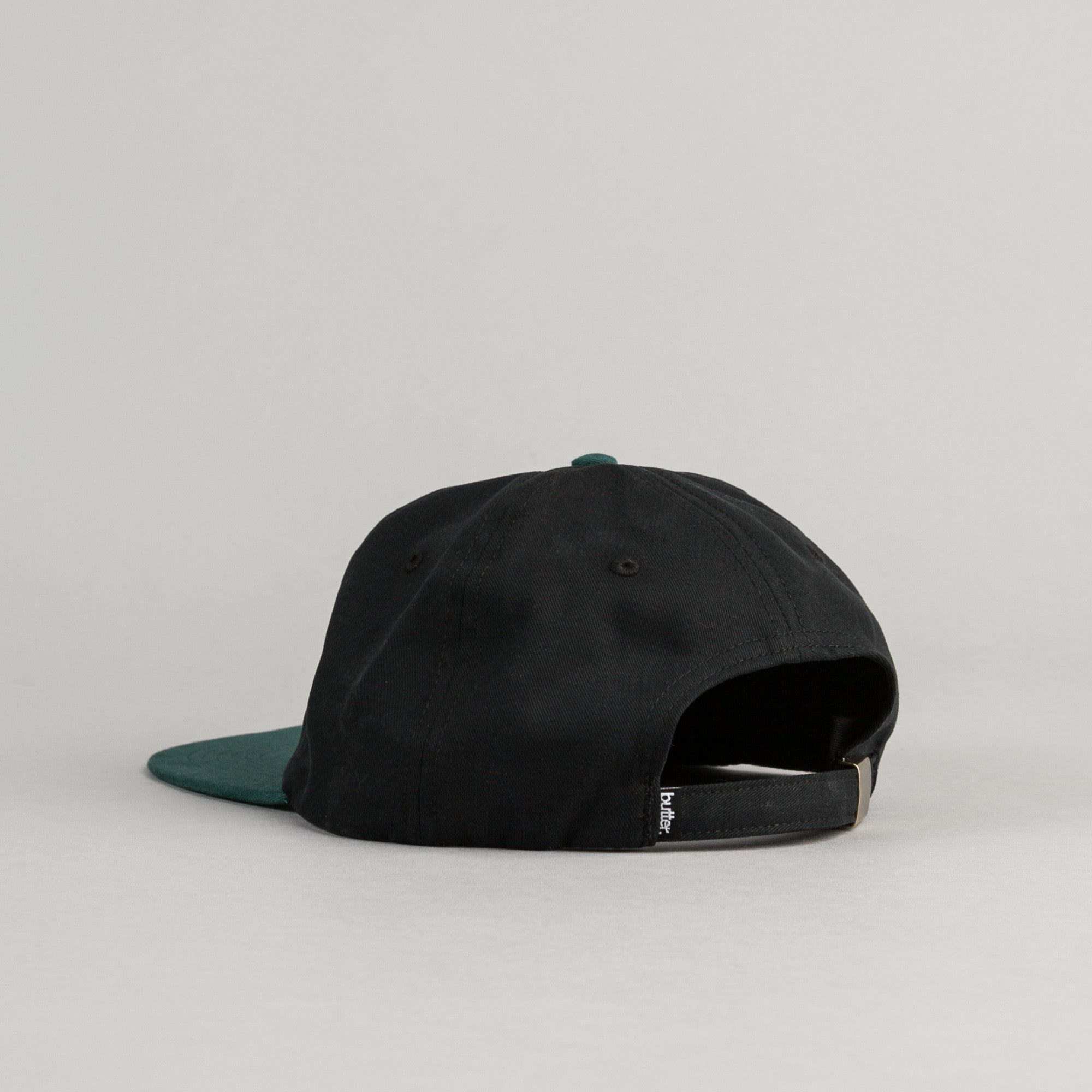 Butter Goods 2-Tone Brushed 6 Panel Cap - Black / Mallard