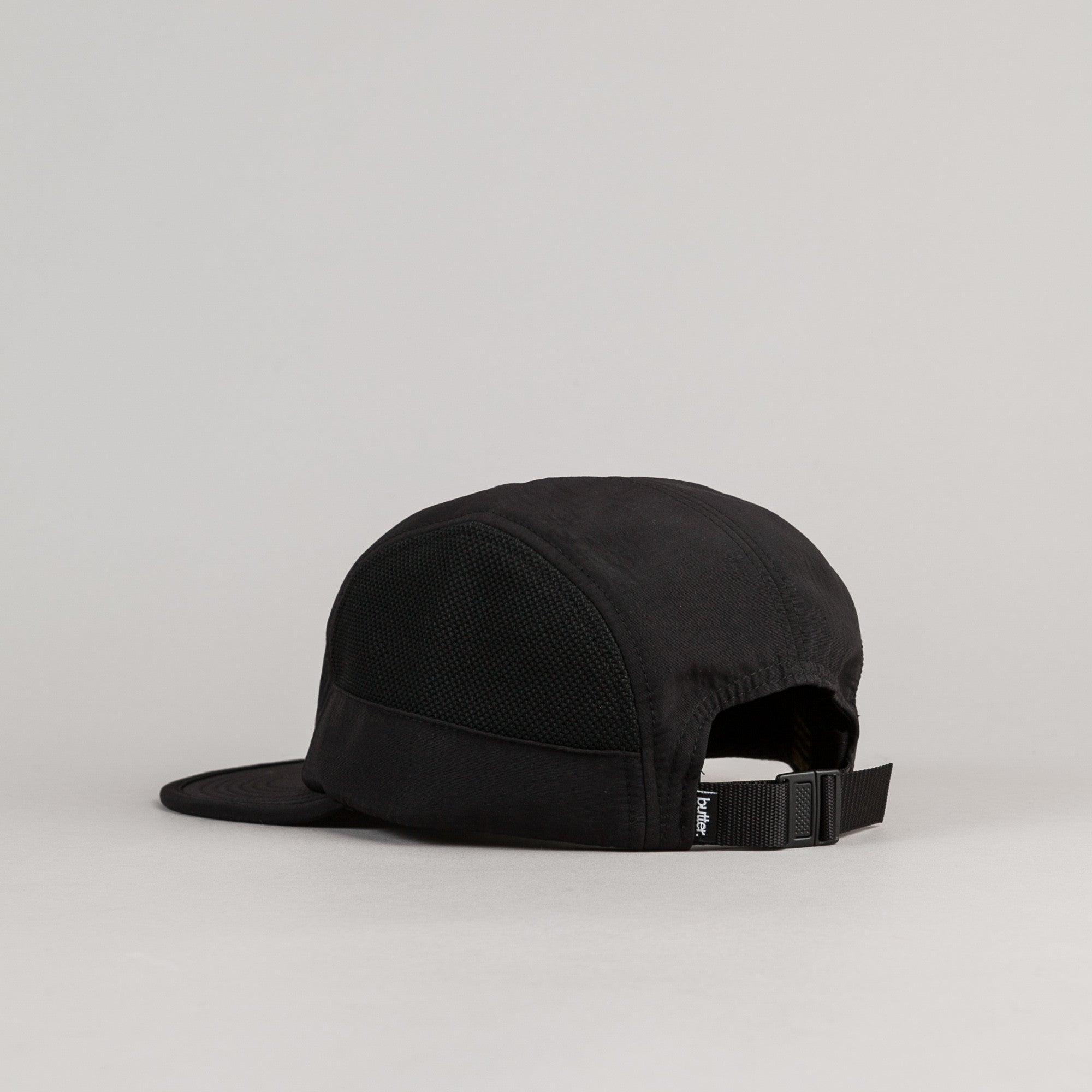 Butter Goods Athletic 5 Panel Camp Cap - Black