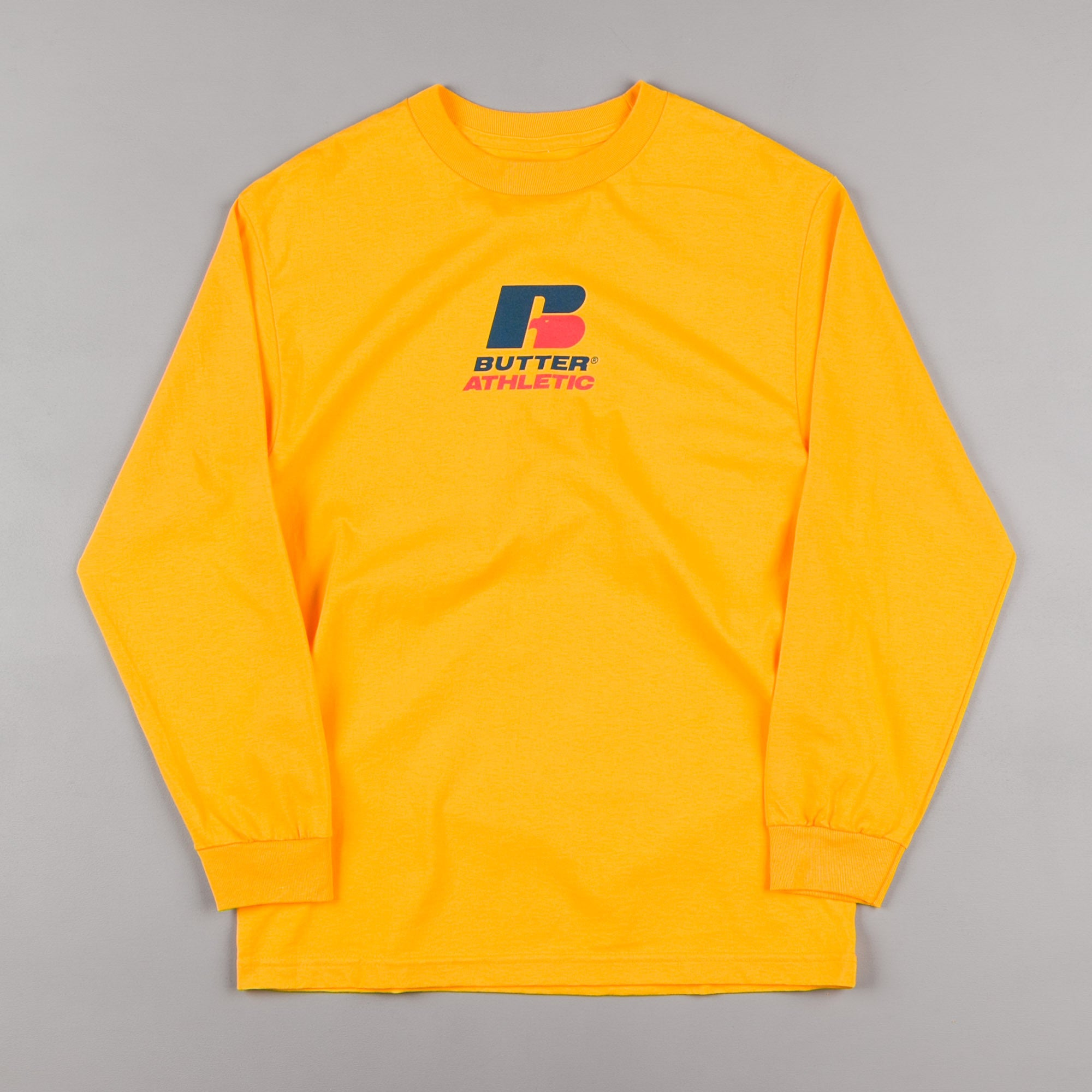 Butter Goods Athletic Long Sleeve T-Shirt - Gold