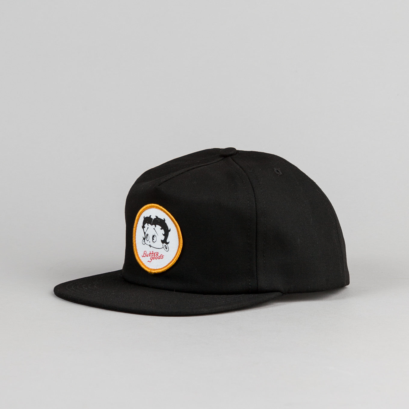 Butter Goods Betty Snapback Cap - Black