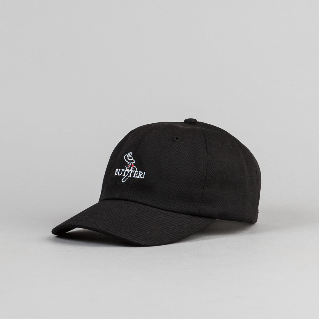 Butter Goods Bistro Cap - Black