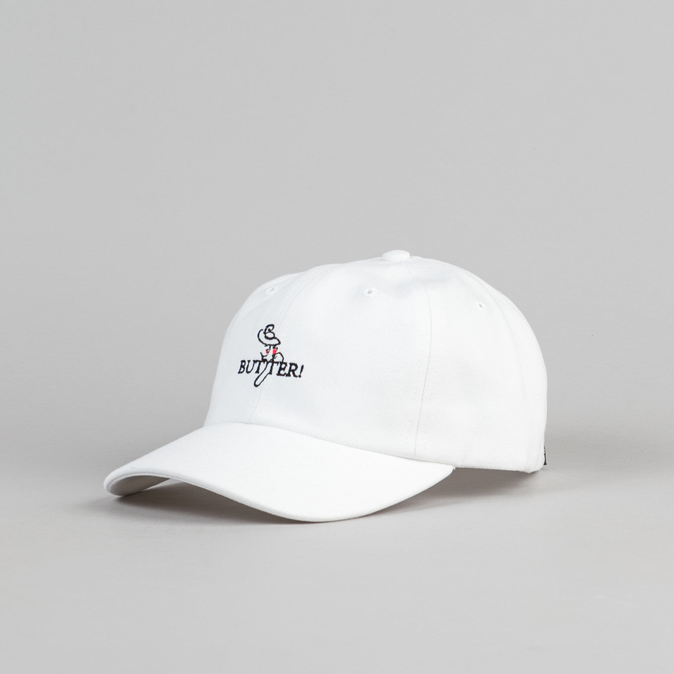 Butter Goods Bistro Cap - White
