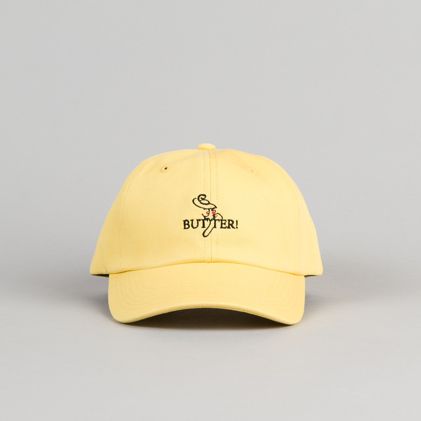 Butter Goods Bistro Cap - Yellow