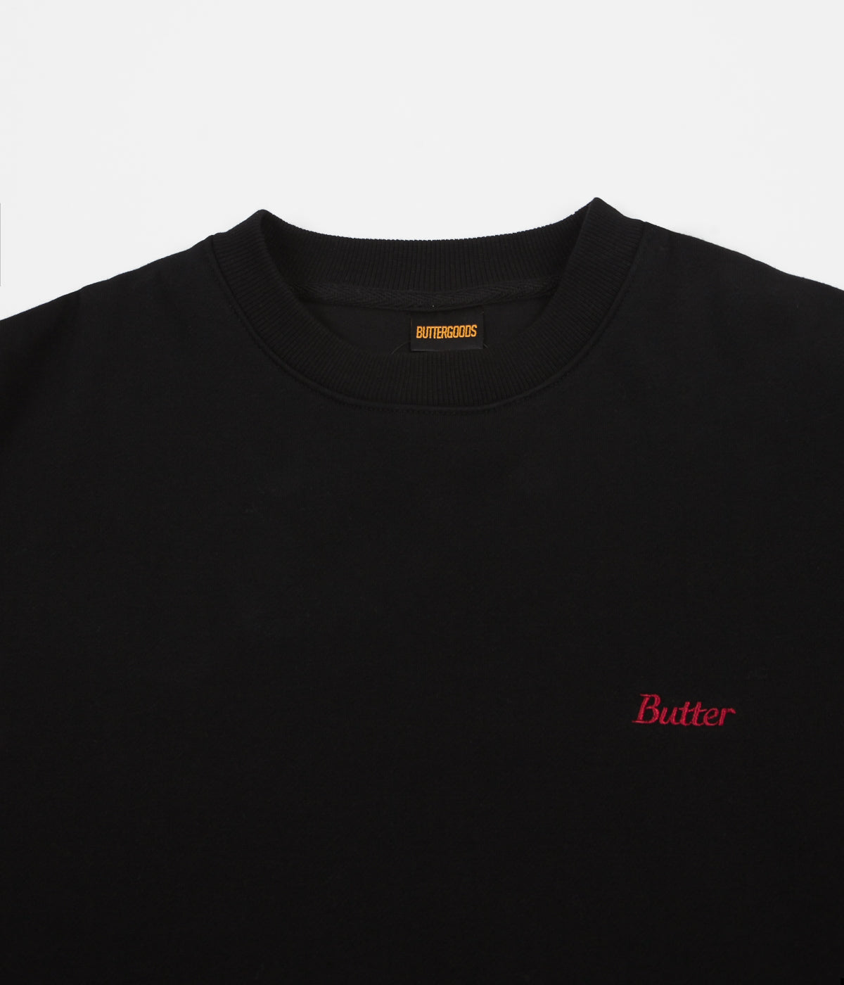 Butter Goods Bristol Crewneck Sweatshirt - Black