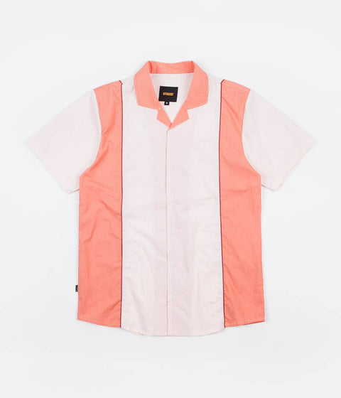 Butter Goods Cadwell Shirt - Cream / Peach