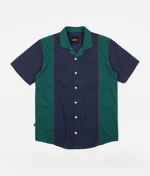 Butter Goods Cadwell Shirt - Navy / Alpine