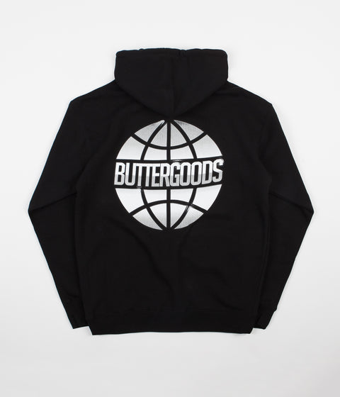 Butter Goods Chrome Worldwide Hoodie - Black
