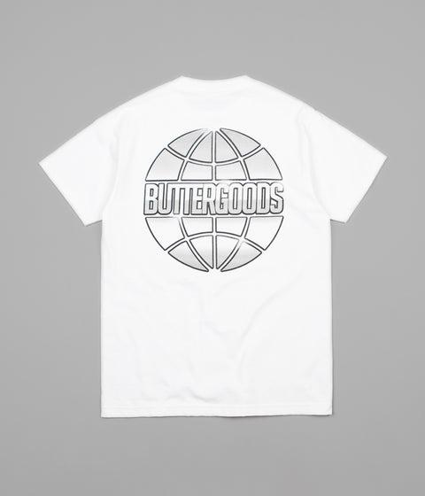 Butter Goods Chrome Worldwide T-Shirt - White