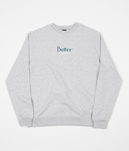 Butter Goods Classic Logo Crewneck Sweatshirt - Heather