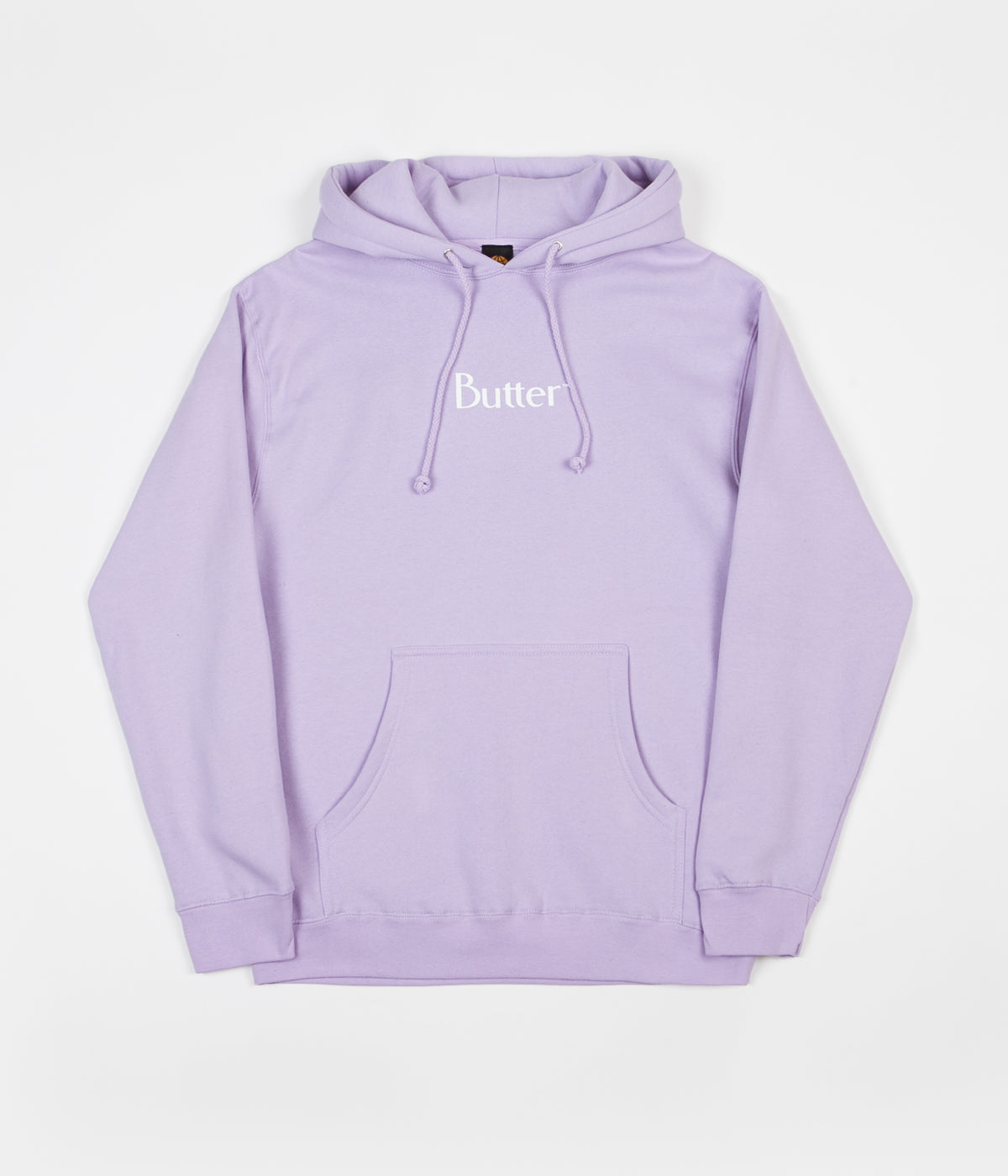 Butter Goods Classic Logo Hoodie - Lavender